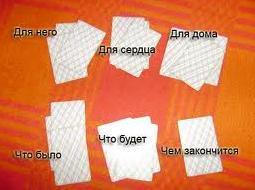 Гадания на игральных картах на будущее и любовь: 3